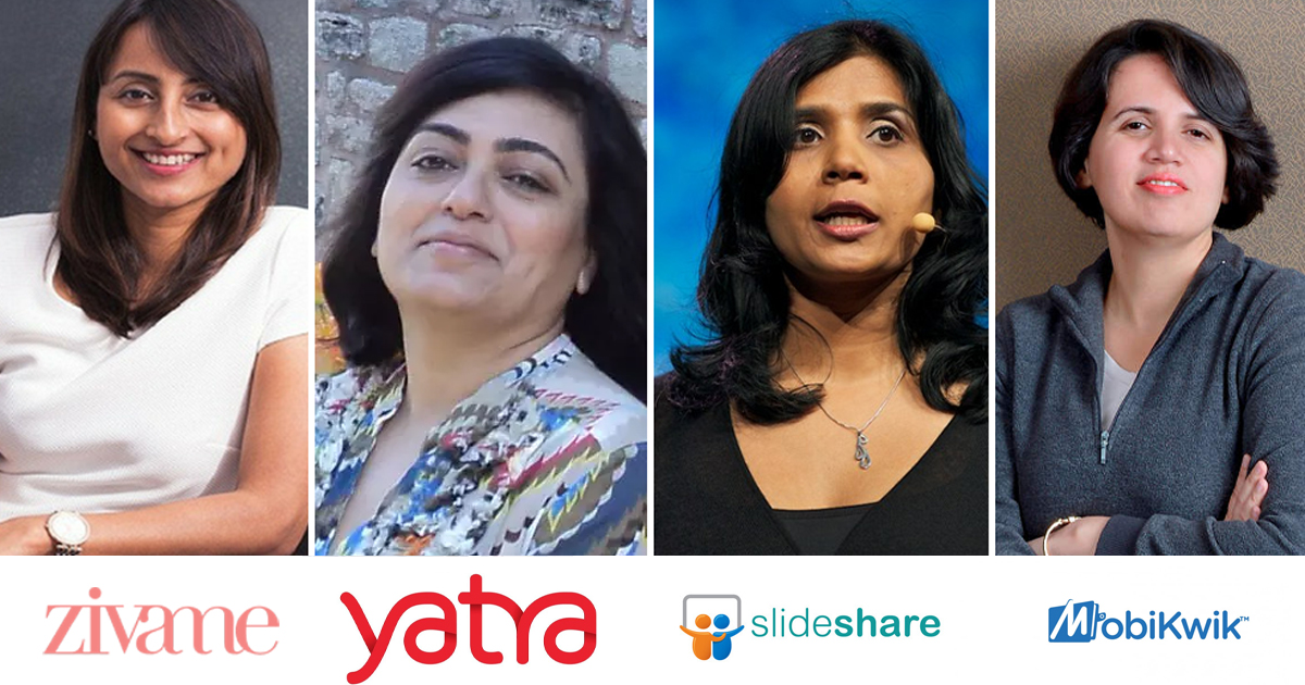 5 Successful Indian Startups Founded By Women,Startup Stories,5 Women Who Founded India's Most Popular Startups,Five Successful Indian Startups Founded By Women,5 Indian startups with women founders,Top 5 Women Startup Founders In India,5 Most successful Women Entrepreneurs in India